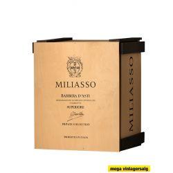 Miliasso Barbera d'Asti D.O.C.G. Superiore Private Collection Gavekasse