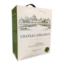 Chateau d´Haurets Bordeaux Blanc - Bag in Box 3 liter